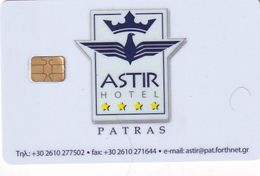 GREECE(chip) - Astir, Hotel Keycard, Used - Hotelkarten