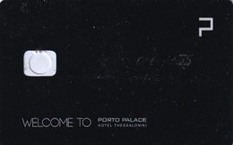 GREECE(chip) - Porto Palace, Hotel Keycard, Used - Hotelkarten
