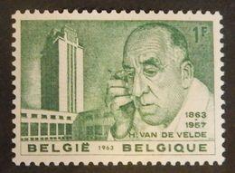 BELGIQUE  YT 1270 NEUF**MNH   ANNÉE 1963 - Belgien