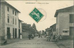 01 CONDEISSIAT /  Route De La Gare / - Autres Communes