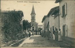 01 RANCE / La Grande Rue / - Autres Communes
