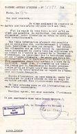 C9 1942 RARE CORRESPONDANCE DES SERVICES DIPLOMATIQUES DES PRISONNIERS DE GUERRE AVEC UN STALAG - Guerre De 1939-45