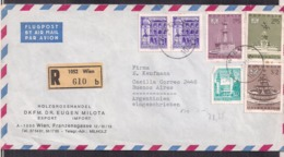Österreich - 1972 - Brief - Holzgrosshandel DKFM Dr. Eugen Milota Nach Argentinien - Cygnus - 1945-1992 Repubblica Socialista Federale Di Jugoslavia