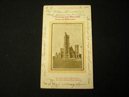 MILWAUKE - ST. PAUL'S CHURCH (EPISCOPAL) - N. CASPAR COMPANY PUBLISHERS 1903 - Milwaukee