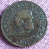 PORTUGAL :20 REIS 1891 - Portugal