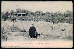 VALENÇA - ROMANO - Ponte Romana Em S. Pedro Da Torre. ( Ed.A. J. Gonçalves Nº2)  Carte Postale - Viana Do Castelo
