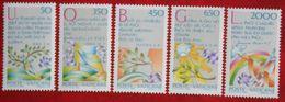 Internationales Jahr Des Friedens 1986 Mi 889-893 Yv 792-796 VATICANO VATICAN VATICAAN - Vatican