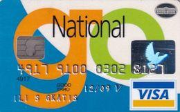 GREECE - National Bank Visa(reverse Axalto), 07/06, Used - Geldkarten (Ablauf Min. 10 Jahre)