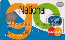 GREECE - National Bank MasterCard(reverse ICA Gemplus), 07/06, Used - Geldkarten (Ablauf Min. 10 Jahre)