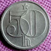 CZECHOSLOVAKIA :50 HALERU 1978 KM 89 UNC - Czech Republic