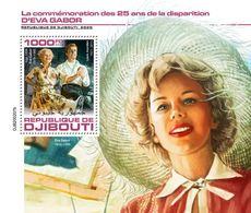 DJIBOUTI 2020 - Eva Gabor, S/S Official Issue [DJB200207b] - Acteurs