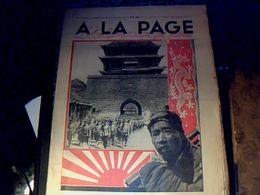 Vieux Papiers Revue A La Page No  49 Année 1931 Conflit D'extrême Orient ( Japon /Chine) - Livres, BD, Revues