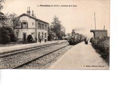 CP PLEUDIHEN Intérieur De La Gare - France