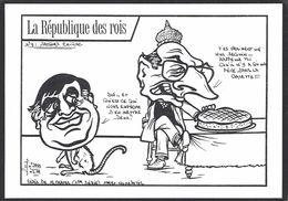 CPM Vosges 88 Epinal Tirage Limité Numéroté En 100 Ex. Chirac épiphanie Fève - Epinal