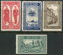Turkey 1940. Michel #1094/971094/97 VF/MNH. 100 Years Of Turkish Post. Ships (Ts16) - 1921-... Republic