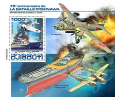 DJIBOUTI 2020 - WW2: Okinawa, S/S Official Issue [DJB200206b] - WW2