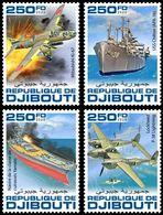 DJIBOUTI 2020 - WW2: Okinawa, 4v. Official Issue [DJB200206c] - WW2