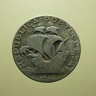 Portugal 2 1/2 Escudos 1944 Silver - Portugal