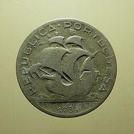Portugal 5 Escudos 1934 Silver - Portugal
