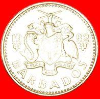 · GREAT BRITAIN (1973-2007): BARBADOS ★ 5 CENTS 1982! LOW START ★ NO RESERVE! - Barbados