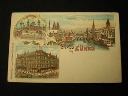 ZURICH - GRUSS AUS - WAARENHAUS F. JELMOLI A.G. - ZH Zurich