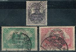 Allenstein 1920, Michel# 17, 25, 27 O - Germany