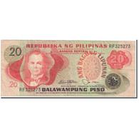 Billet, Philippines, 20 Piso, 1978, Undated (1978), KM:162b, TB - Philippinen