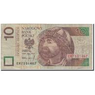 Billet, Pologne, 10 Zlotych, 1994-03-25, KM:173a, B+ - Poland