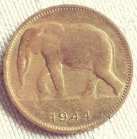 BELGISCH CONGO : 1 FRANK 1944 - Congo (Belgisch) & Ruanda-Urundi
