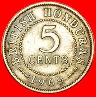 · LAST TYPE: BRITISH HONDURAS ★ 5 CENTS 1969! LOW START ★ NO RESERVE! - Belize