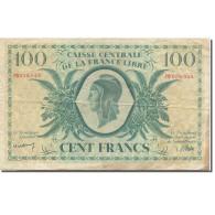 Afrique-Équatoriale Française, 100 Francs, Marianne, TB, KM:13a - Frankrijk