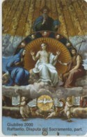 SCHEDA TELEFONICA NUOVA VATICANO SCV73 DISPUTA DEL SACRAMENTO - Vatican
