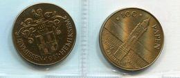 1981 Hemiksem - 100 Papen - Brons Gepatineerd - Token - Penning - Nr 116 - Belgium