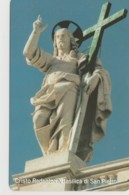 SCHEDA TELEFONICA NUOVA VATICANO SCV90 CRISTO REDENTORE - Vatican