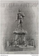 1867 L'EXPOSITION DE 1867 - LA STATUE D'AMBIORIX De M M BERTIN - 1850 - 1899