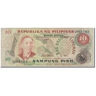 Billet, Philippines, 10 Piso, 1978, Undated (1978), KM:161b, TB - Philippinen