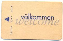 Scandic Hotels, Scandinavia, Used Wooden Magnetic Hotel Room Key Card # Scandic-5 - Hotelsleutels (kaarten)