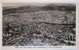 Weißenburg Im Elsaß, Blick Von Schweigen, Ca. 1930  - Elsass