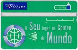 PORTUGAL A-812 Hologram Telecom - 505B - Used - Portugal