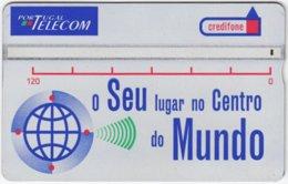 PORTUGAL A-935 Hologram Telecom - 505F - Used - Portugal