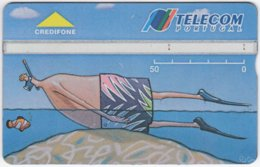 PORTUGAL A-970 Hologram Telecom - Painting, Modern Art - 407A - Used - Portugal