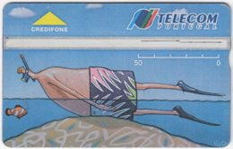 PORTUGAL A-971 Hologram Telecom - Painting, Modern Art - 407B - Used - Portugal