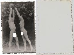 1960s Original ART Home Private 11x8cm Vintage Old Photo Photography Beautiful Erotic Woman Man Male NU Eros USA? (9351) - Beauté Féminine (1941-1960)