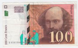 France 100 Francs 1998 VF+ CRISP Banknote Pick 158 - 1992-2000 Ultima Gama