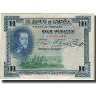 Billet, Espagne, 100 Pesetas, 1925-07-01, KM:69a, TB+ - [ 1] …-1931 : Premiers Billets (Banco De España)