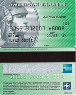 GREECE - Alpha Bank American Express(reverse P/N H270 UK), 01/05, Used - Geldkarten (Ablauf Min. 10 Jahre)