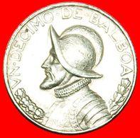 · PORTRAIT: PANAMA ★ 1/10 BALBOA 1968! Vasco Nunez De Balboa (1475-1519) LOW START ★ NO RESERVE! - Panama