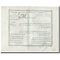 France, Traite, Colonies, Isle De France, 10.000 Livres, Expédition De L'Inde - ...-1889 Francs Im 19. Jh.