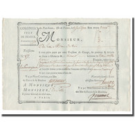 France, Traite, Colonies, Isle De Bourbon, 3000 Livres Tournois, 1780, SUP - ...-1889 Tijdens De XIXde In Omloop