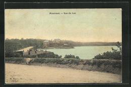 CPA Ploermel, Vue Du Lac - Ploërmel